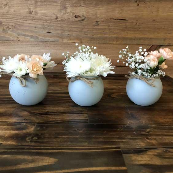 Round Ball Vases