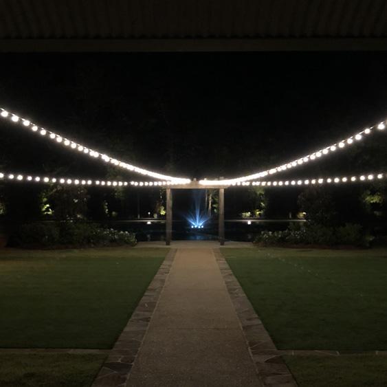 Lighting - Outdoor Bistro