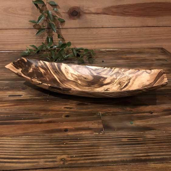 Ornate Wood Bowl