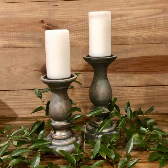 Candle Holders Wood