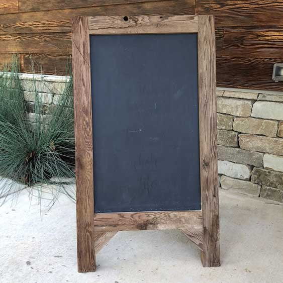 Chalkboard Sign - Medium