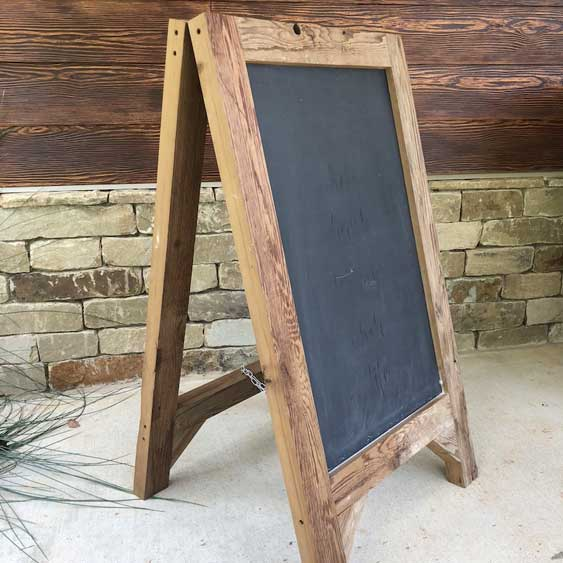 Chalkboard Sign - Large