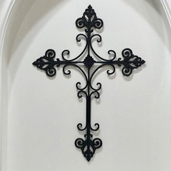 Large Metal Cross