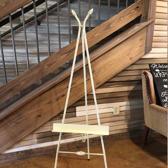 Metal Easel - A Frame