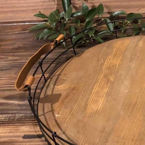Wire & Wood Platter