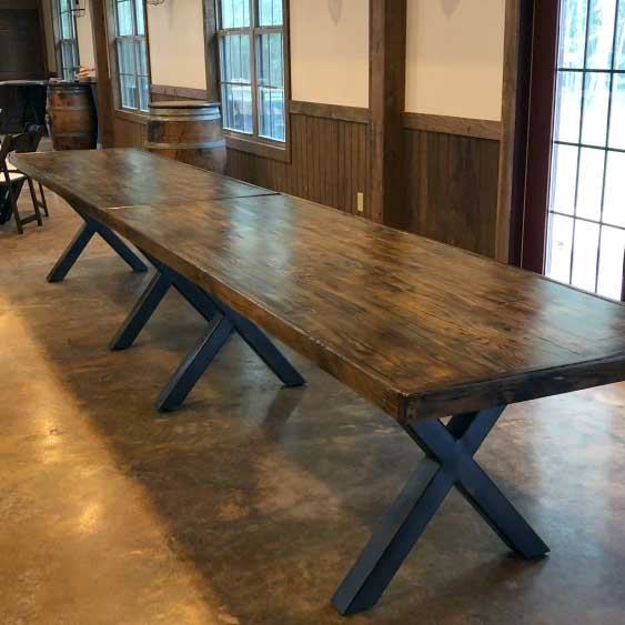 Rustic Banquet Table