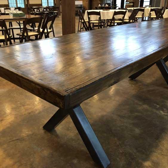 Rustic Banquet Table