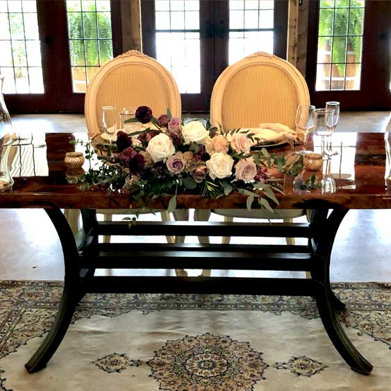 Sweetheart Table w/ Chairs