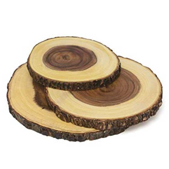 Centerpiece - Wood Disk